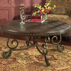 Coffee Table With Nailhead Trim Nebraska Furniture Mart