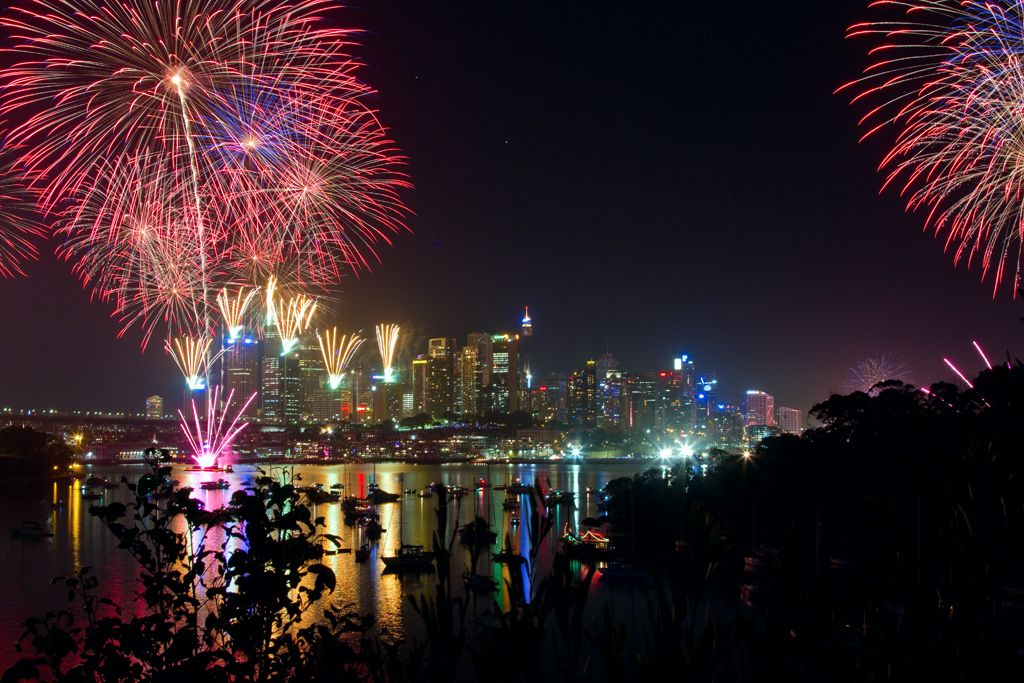 New Year's Day Fireworks Sydney, Australia (With images