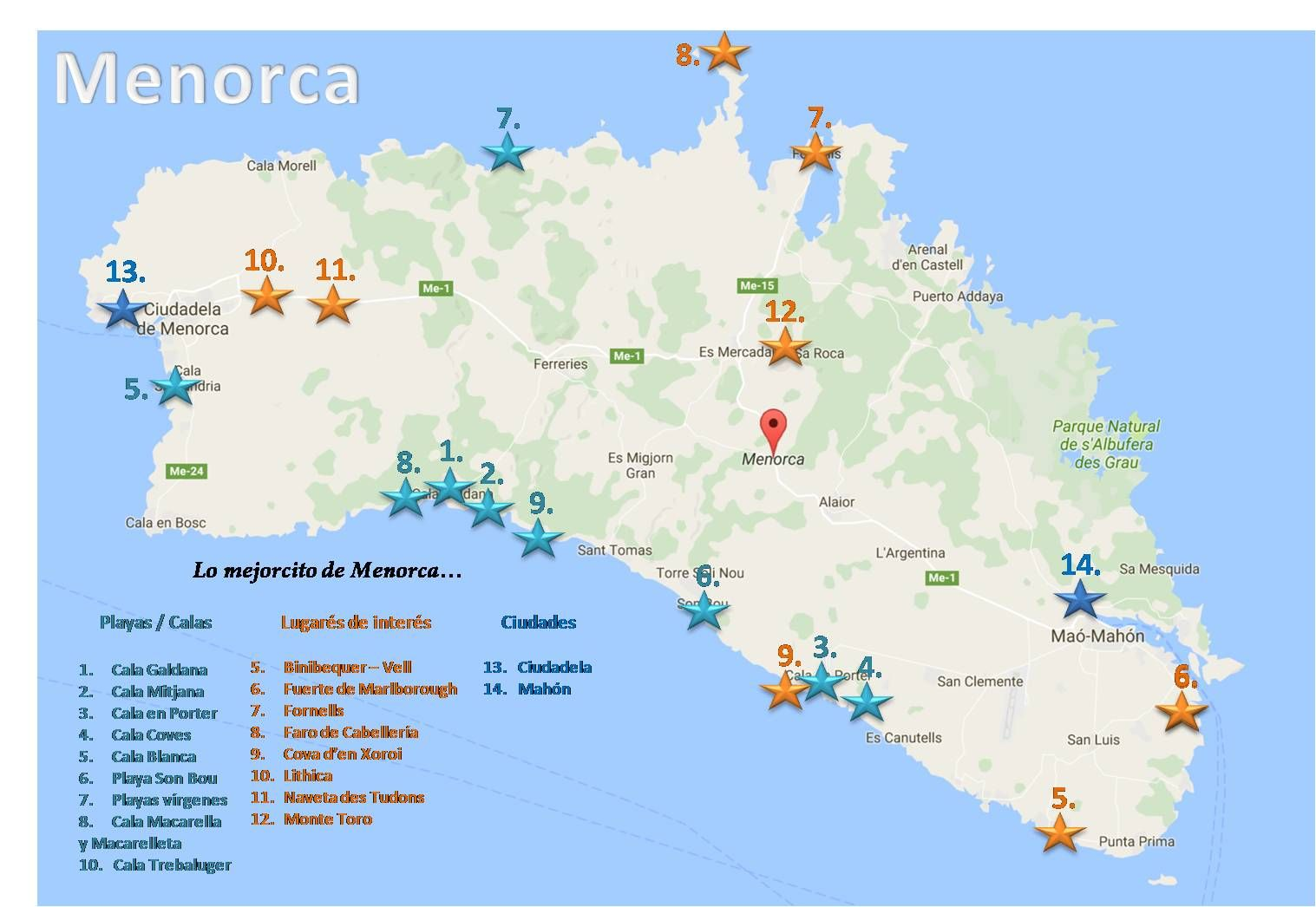 Menorca Menorca Viajes Guia De Viaje
