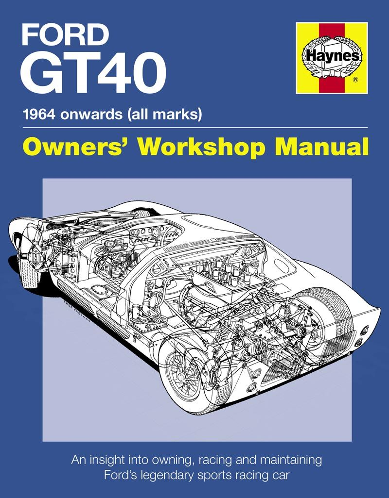 Ford Gt Owners Workshop Manual E Www Autonetcarbooks