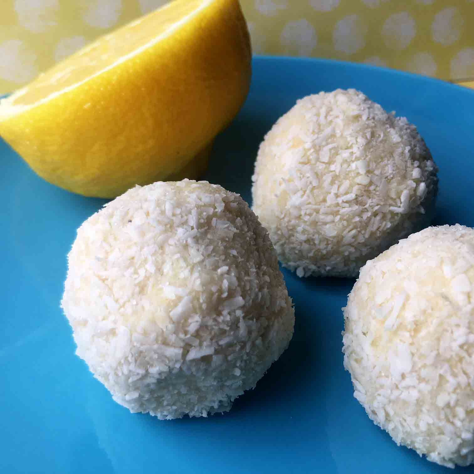 These Low Carb Keto No Bake Lemon Lime Energy Bits Make