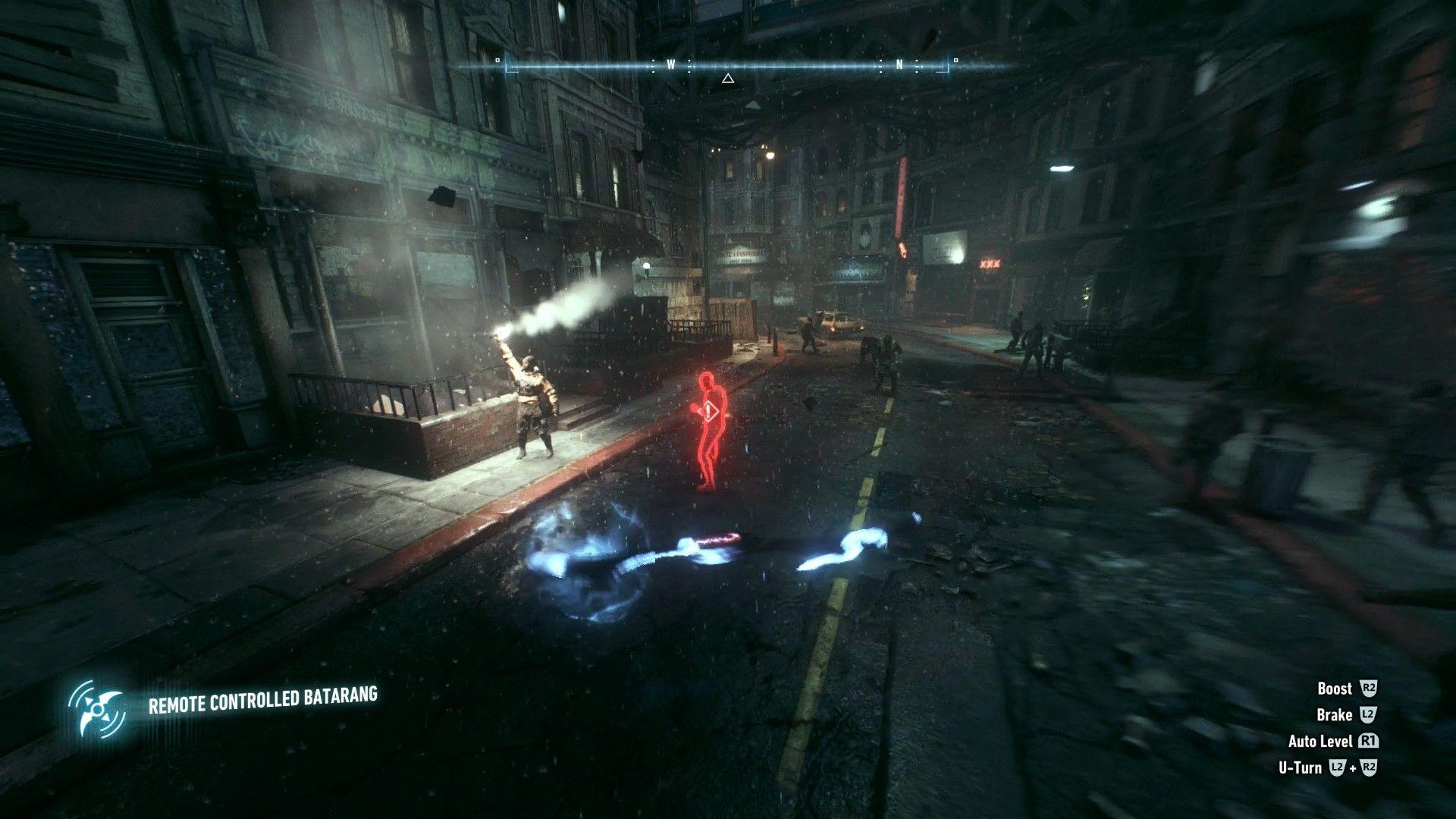Batman Arkham Knight Bleake Island Bomb Rioters