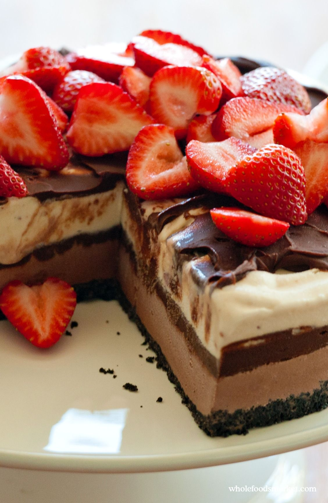 Recipe chocolatestrawberry ice cream cake recipe