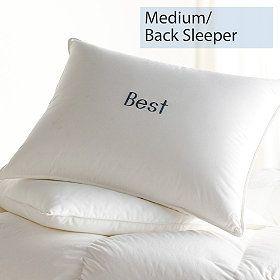 Down Medium Back Sleepers Best Pillows Best Down Pillows Best Pillow Down Pillows