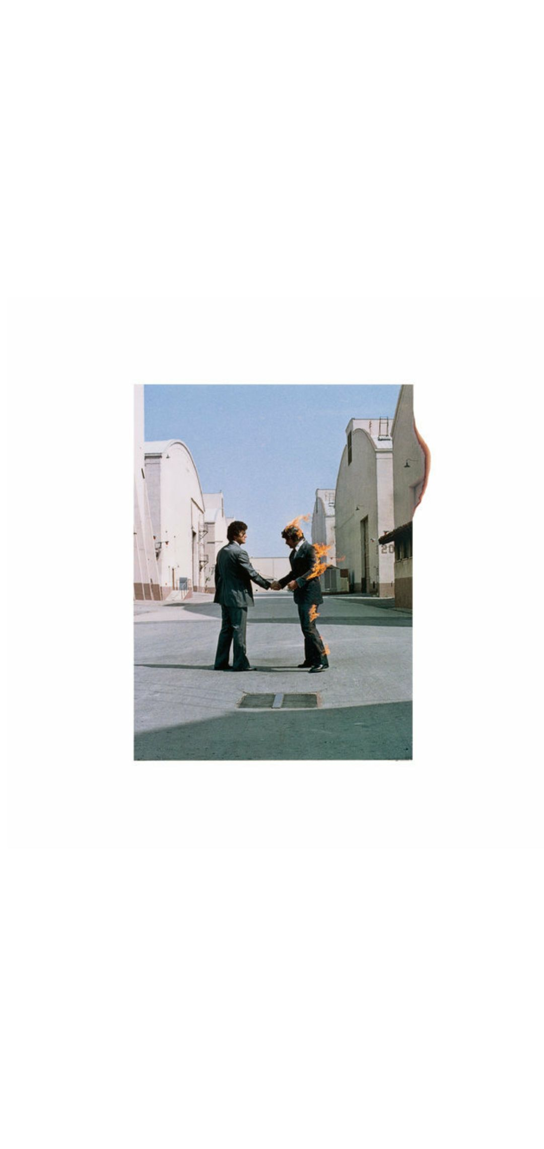 Wish You Were Here Album : album, 'Wish, Here', (Pink, Floyd), Album, Cover, Floyd, Covers,, Albums,