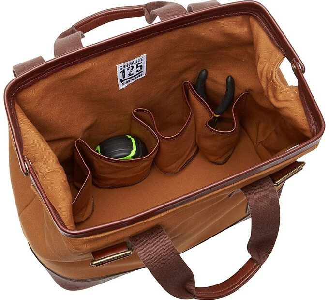 2833fd71a8 Carhartt Limited Edition- Made in the USA Tool Bag, Carhartt Brown ...