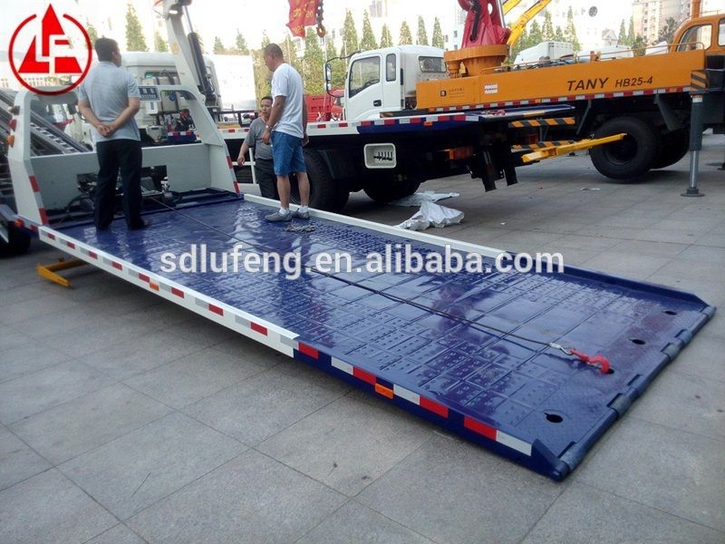 full landing low angle 3 ton slide flatbed road recovery wrecker for cars view cheap wrecker. Black Bedroom Furniture Sets. Home Design Ideas