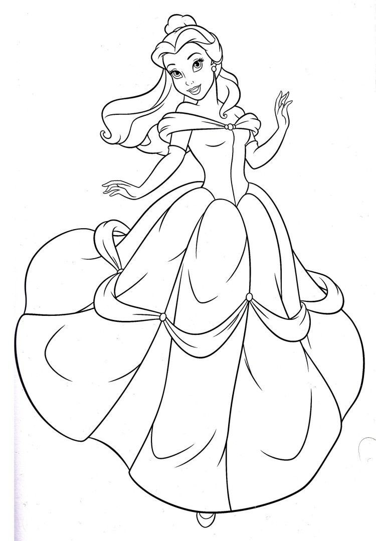 Princess Belle Coloring Book Belle Disney Princess Coloring Book Princess Belle Coloring Bo Malbuch Vorlagen Disney Prinzessinnen Zeichnungen Belle Zeichnung