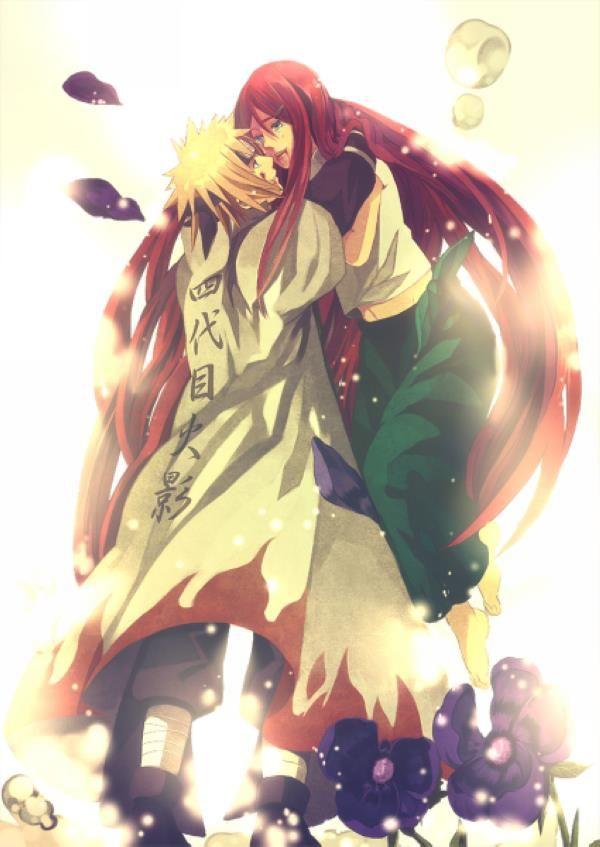Kushina Uzumaki Minato Namikaze Naruto Anime With Images