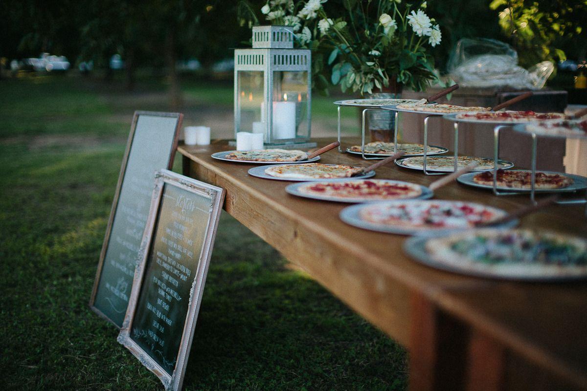 Casual Walnut Orchard Wedding