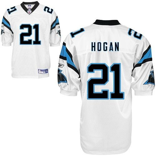 finest selection 54256 564d5 NFL Carolina Panthers #21 Brandon Hogan Authentic White Men ...