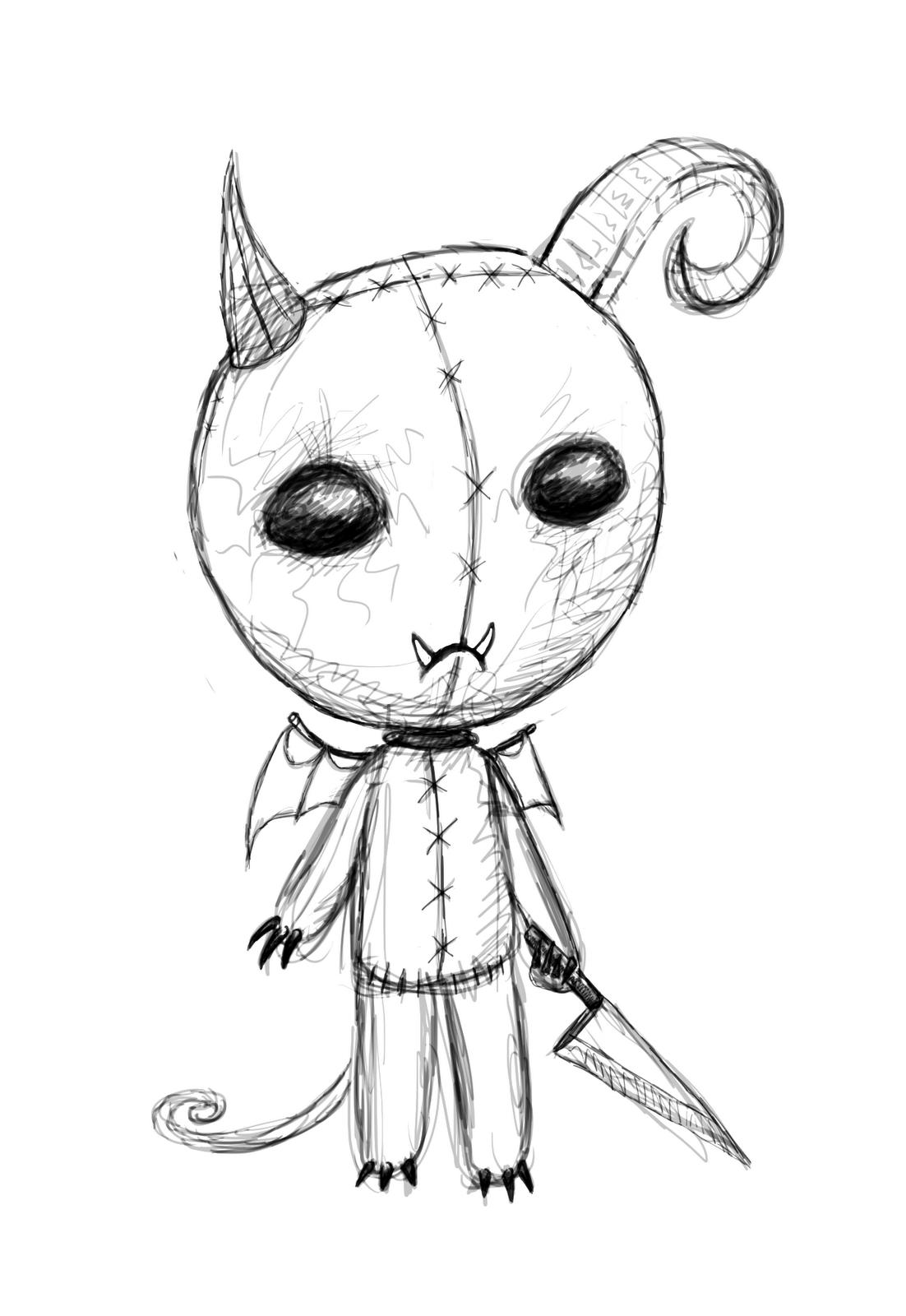 monsterdrawings | Horror Shock LoliPOP: Hug A Monster Day ...