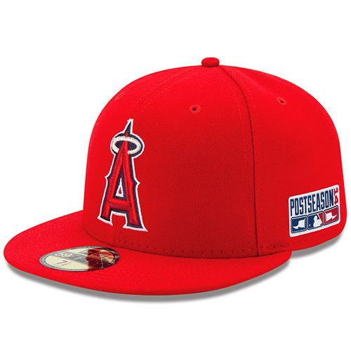 Los Angeles Angels Of Anaheim Authentic Collection On Field 59fifty Game Cap With 2014 Postseason Patch Mlb Com Sh Fitted Hats New Era Cap Los Angeles Angels