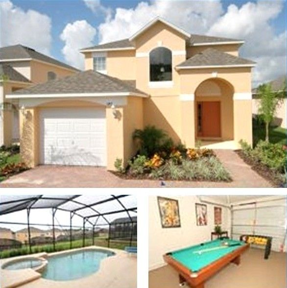 Villa Vacation Rental In Orlando From VRBO.com! #vacation
