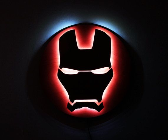 9744a6248f56 Iron Man Night lights