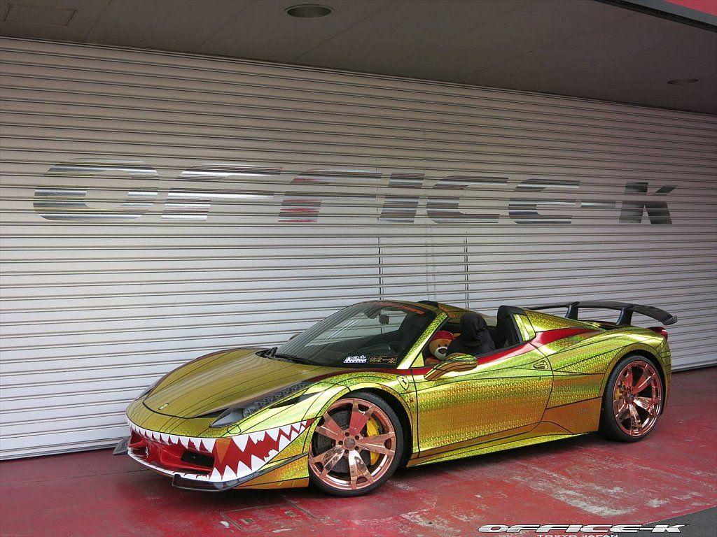 Fail bad car wrap Ferrari 458, Ferrari, Car fails