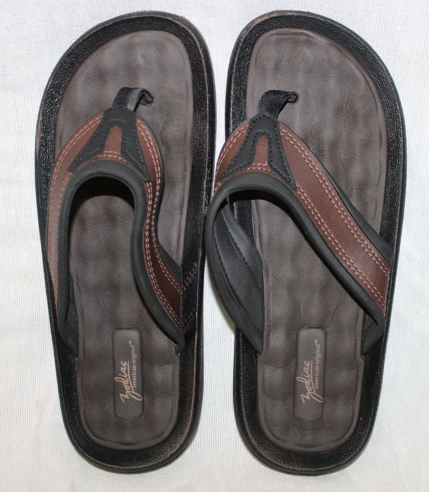 f985ab0ec399 Zodiac Size 10 USA Brown Soft Comfort Grendene Flip Flops Thongs Sandals   zodiac  comfort  grendene  flipflops  thongs  sandals  summer  spring   beach   ...