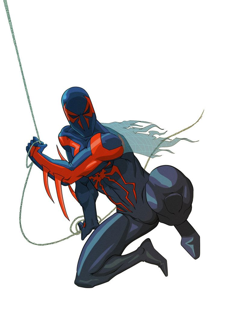 Spiderman #2099 #Fan #Art. (Spider-man 2099) By: BroWIN-DI. (THE 5 ...
