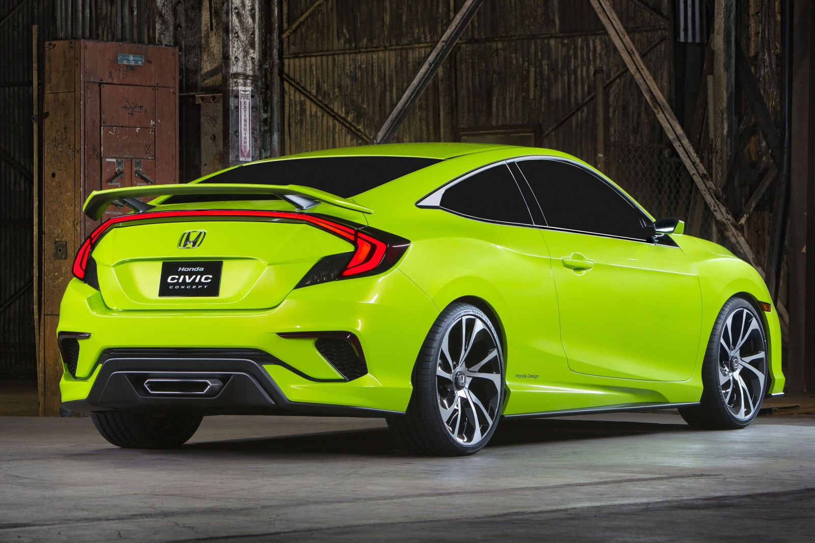 2018 Honda Civic Type R production. Introduced at the