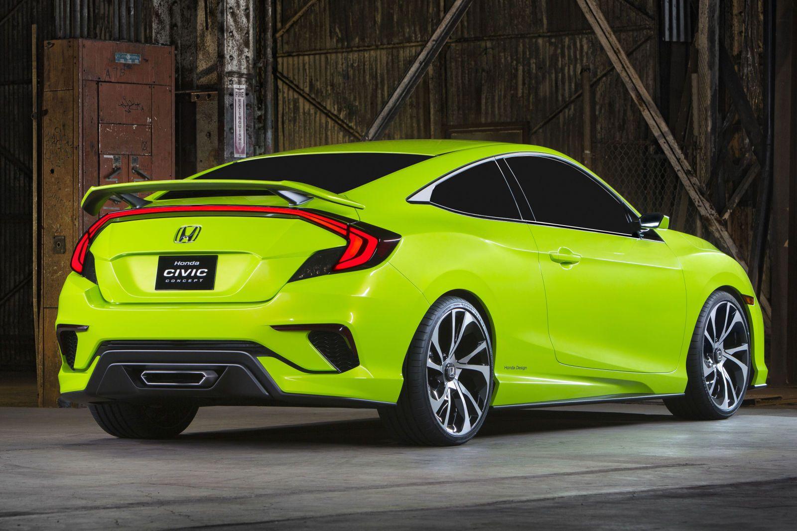 2016 Honda Civic Concept The Official Photos Honda