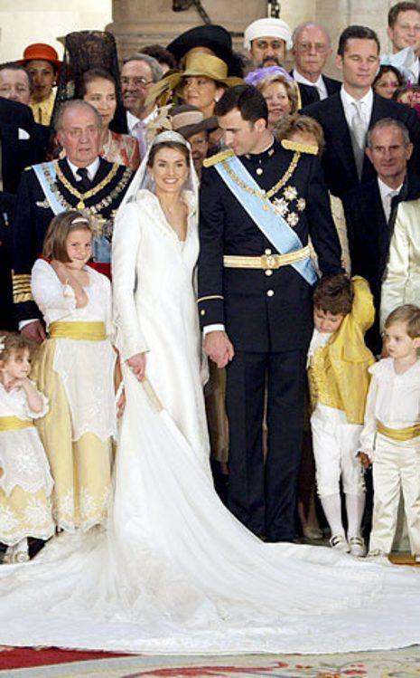 Princess Letizia of Asturias from So Many Royal Wedding Dresses ...