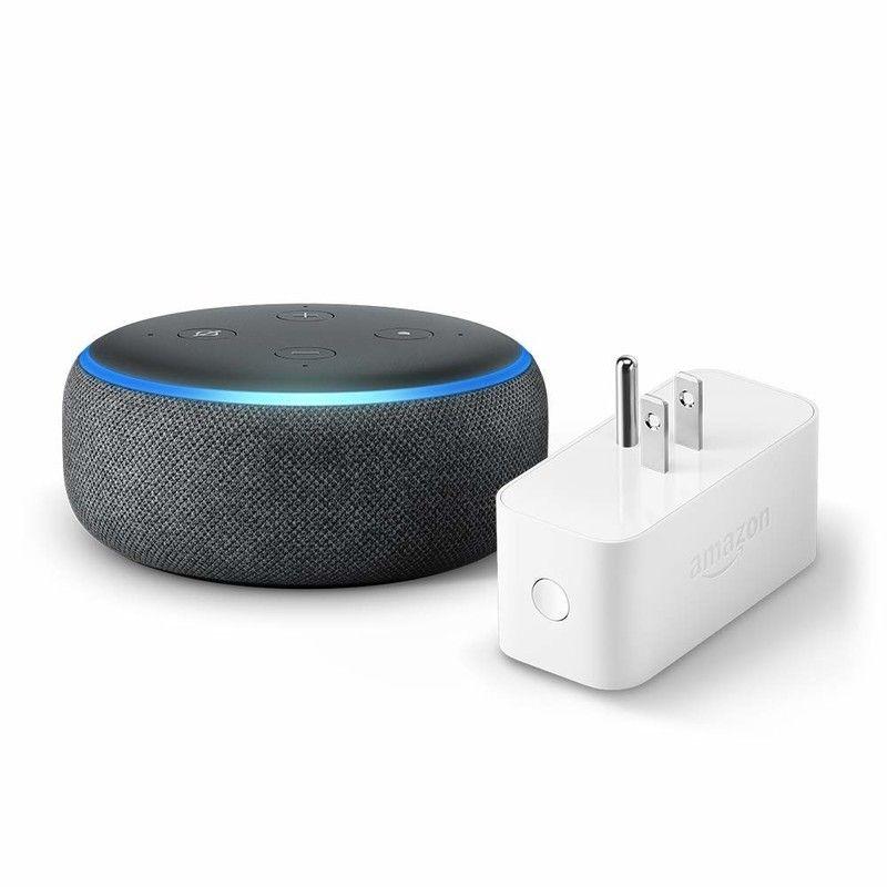 Let Amazon's 40 Echo Dot and Smart Plug bundle kickstart