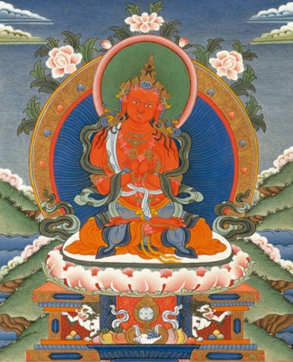 Vajradharma The manifestation of the speech of all the
