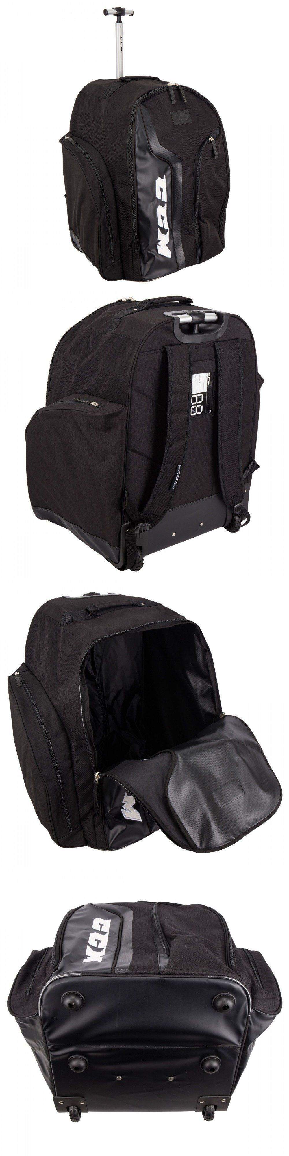 89e4c3784d3 Equipment Bags 58113  New Ccm 290 18 Wheeled Hockey Equipment Backpack  Travel Bag Black -  BUY IT NOW ONLY   84.95 on  eBay  equipment  wheeled   hockey ...
