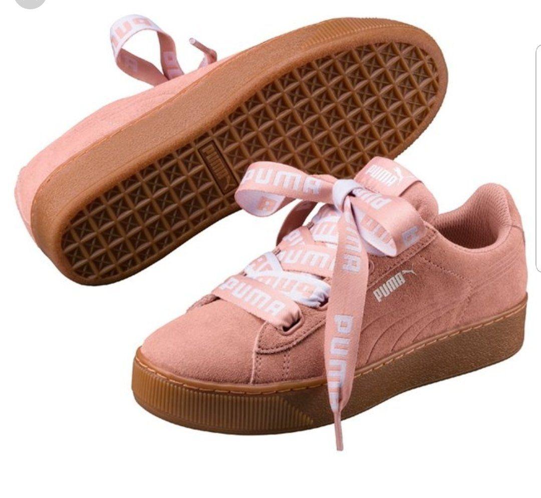 puma donna scarpe ribbon