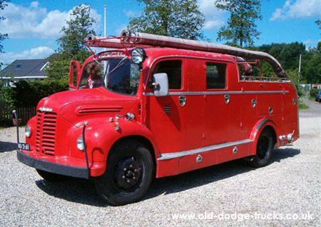 Dodge Kew Fire Tender