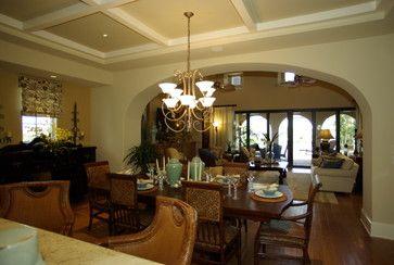 The Capriano - tropical - dining room - other metro - Romanza Interior Design