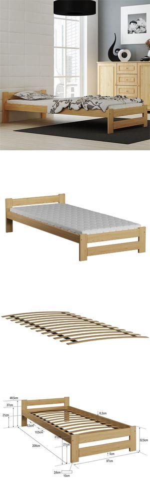 Das Bett Wird Mit Beweglichem Lattenrost Ausgestattet Die Ganze