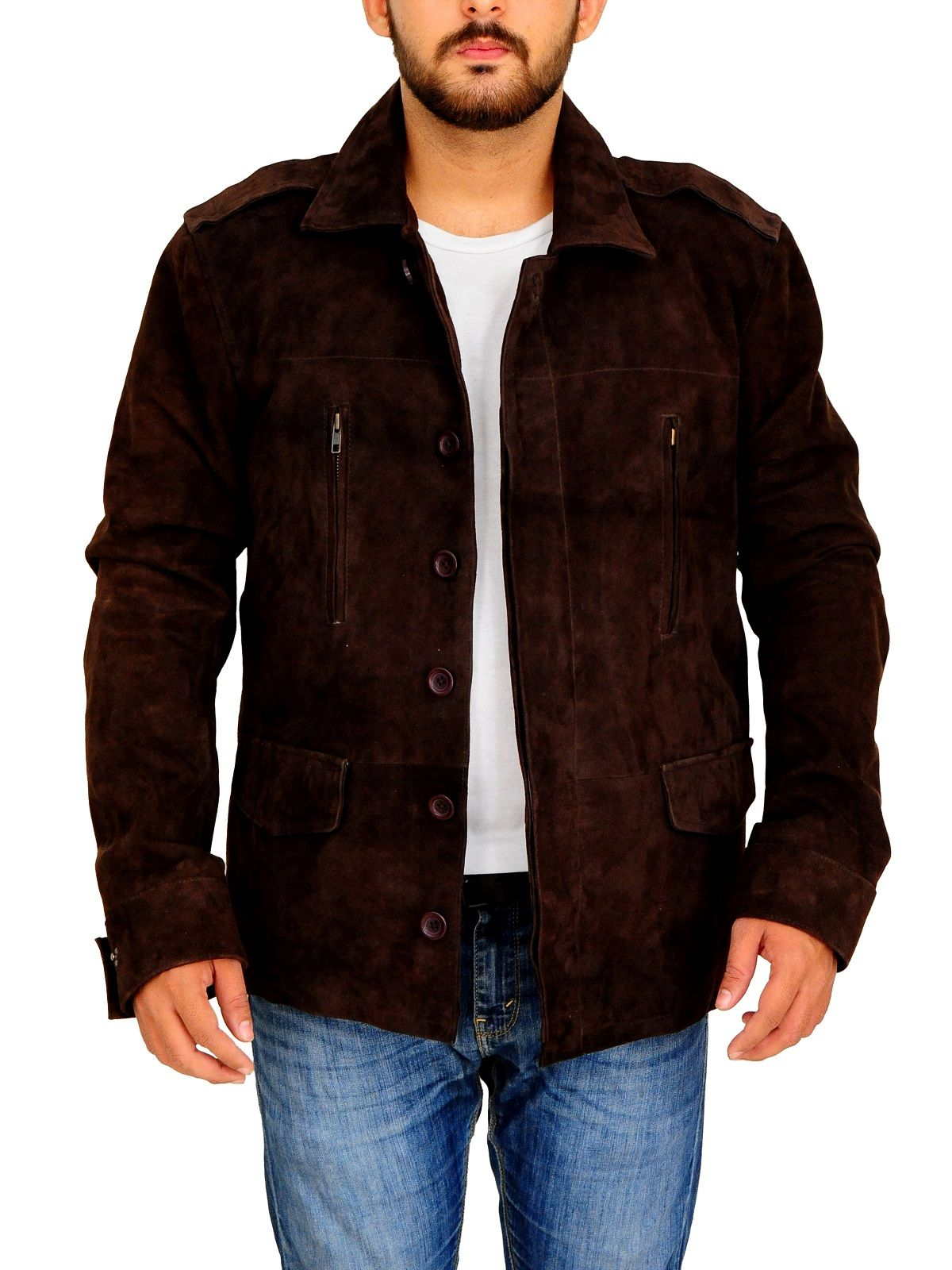 4dfbc5c7d Fifty Shades Dark Brown Leather Jacket | FIFTY SHADES DARK BROWN ...