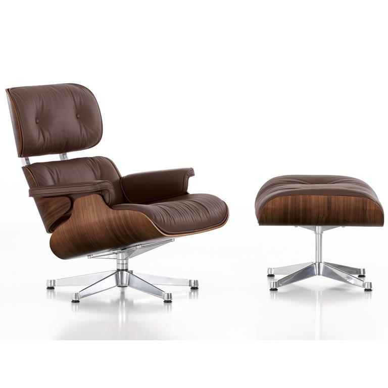 Vintage miniature of charles eames vitra design museum lounge chair and ottoman. Vitra Eames Lounge Chair Met Ottoman Sedia Design Sedie Eames Mobili