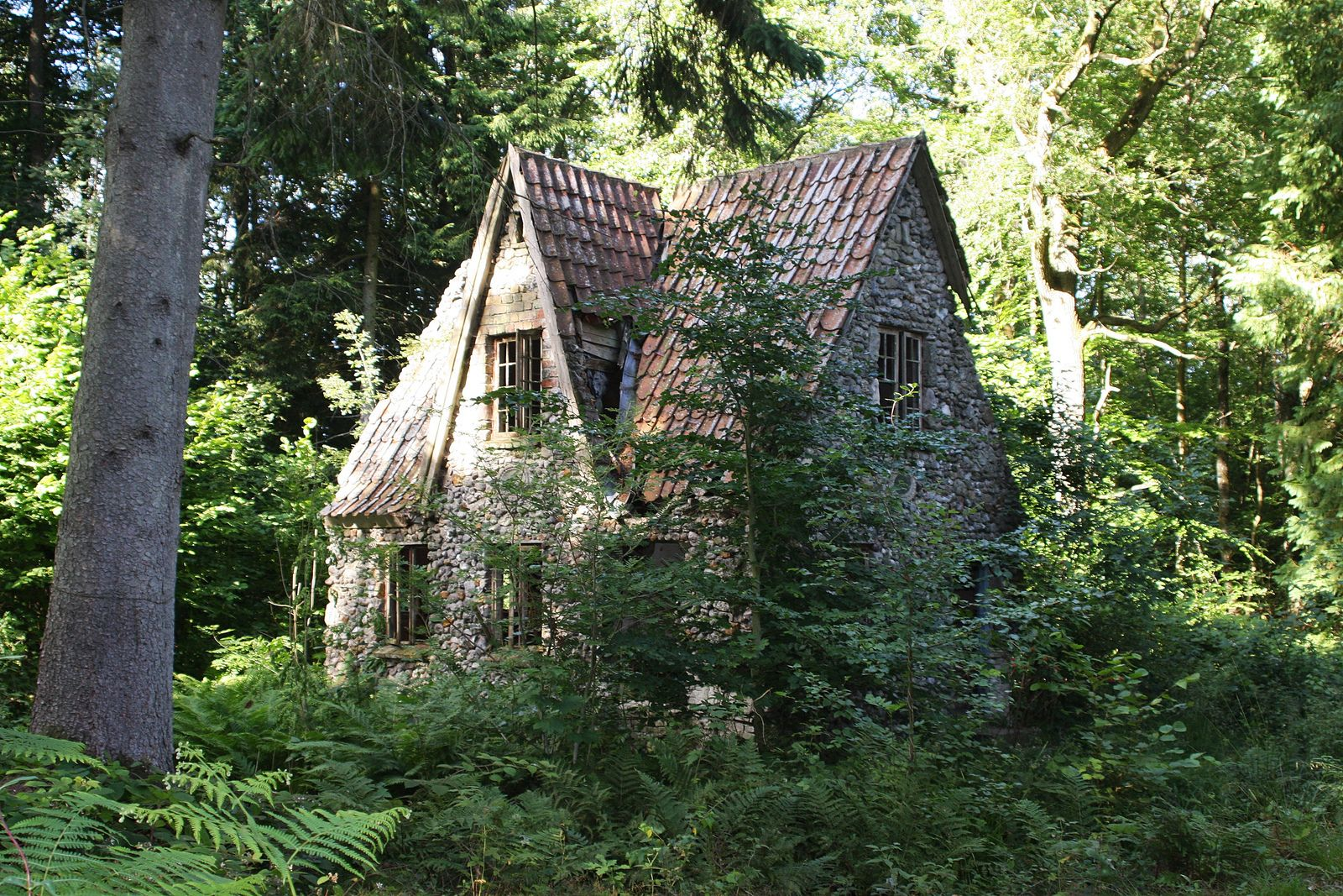 Flintholm (The Witches House) Forest cottage, Woodlands