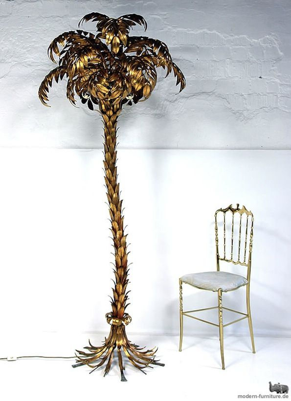 Brass Palm Tree Floor Lamp Love Love Love Verlichting Lampen Interieur