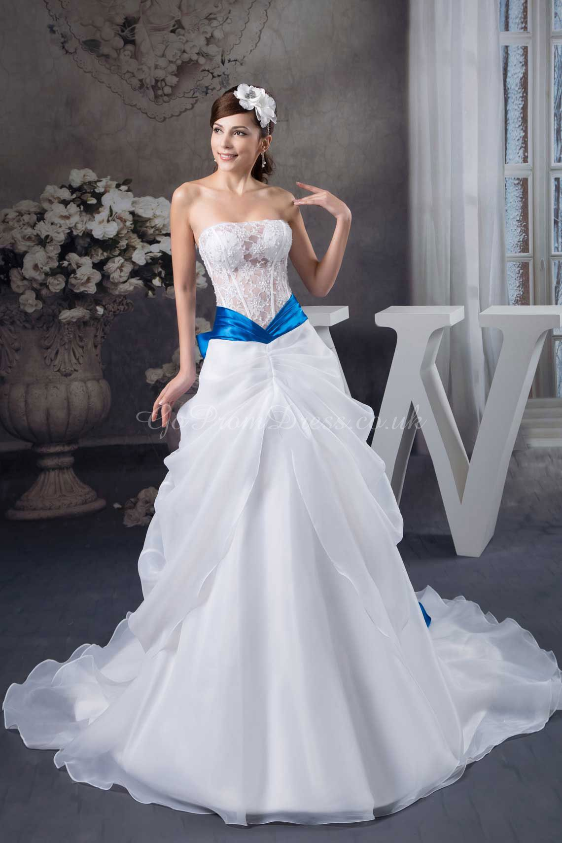 Simple dresses wedding dress blue cool pictures suknie ślubne