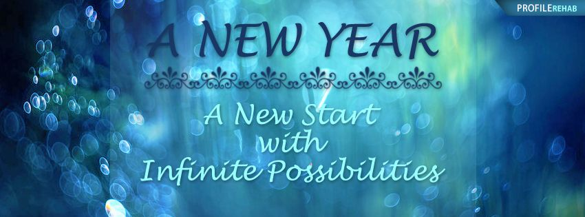 unique new years quote facebook cover