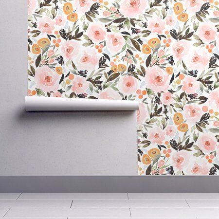 PeelandStick Removable Wallpaper Floral Floral Boho