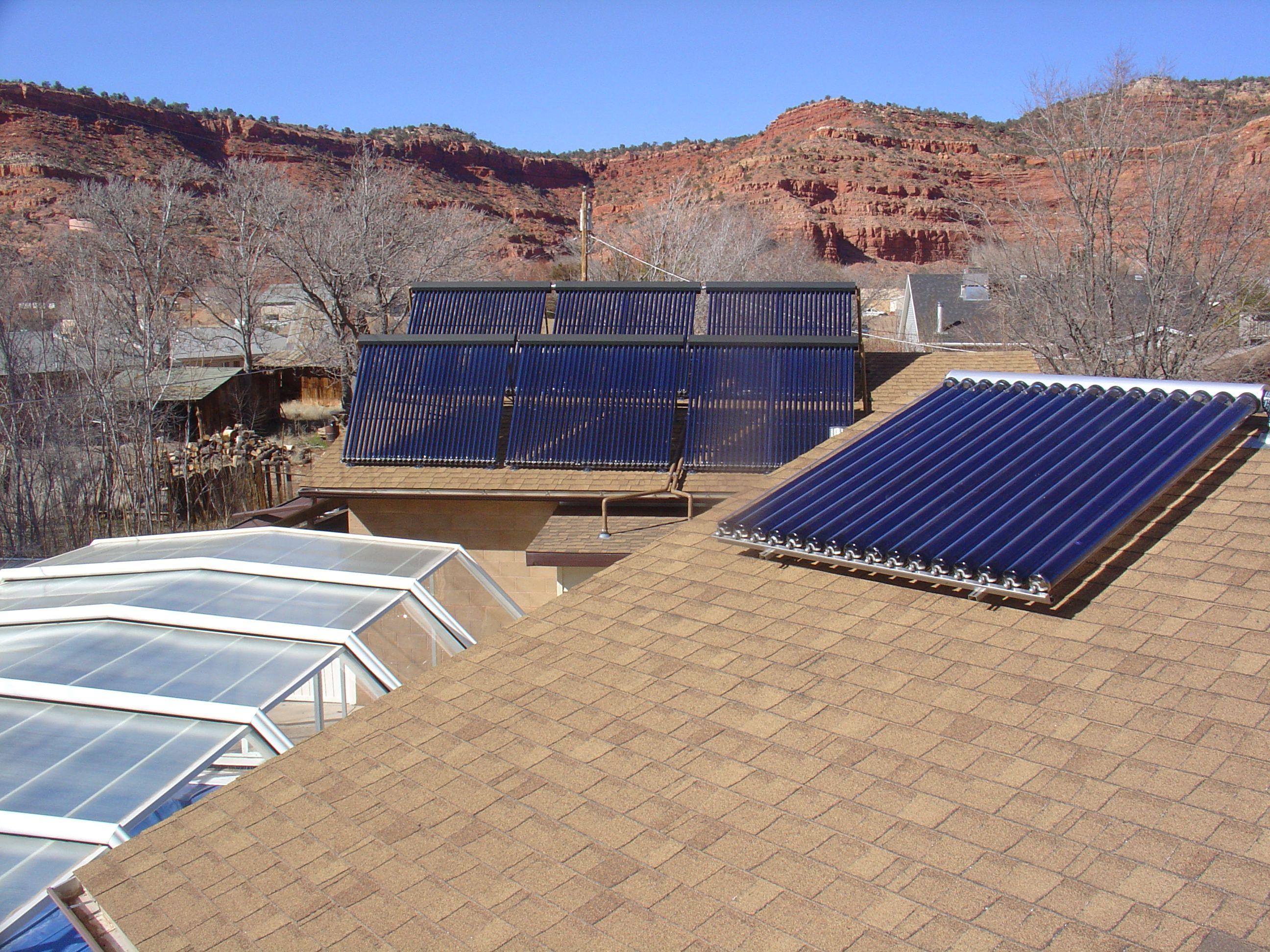 Sunda Seido Solar Collector For Domestic Hot Water