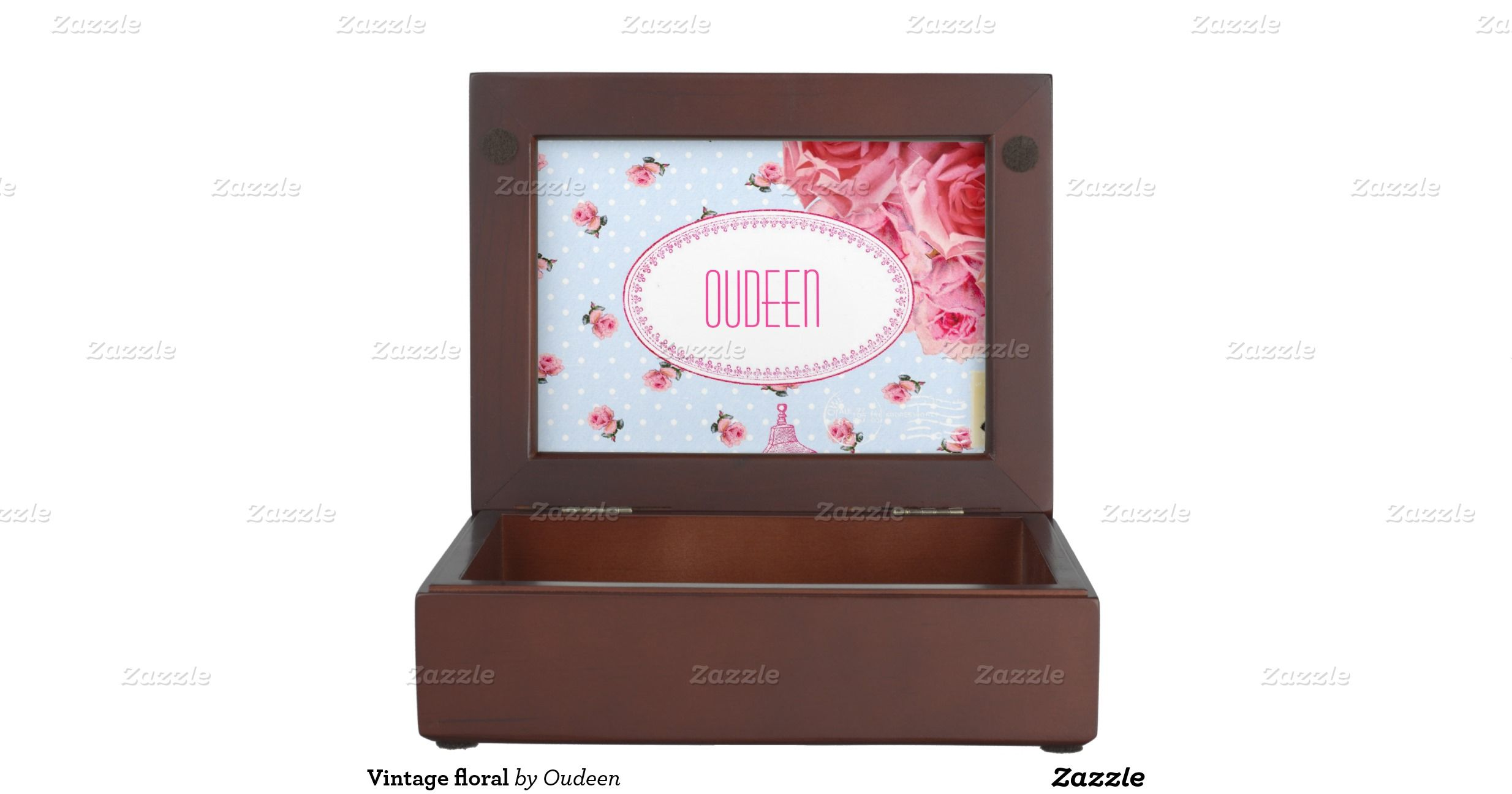 Vintage floral memory boxes #zazzle #gifts #inspiration #floral #shabbychic #vintag