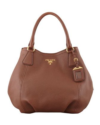 deee9ab2f9bd Daino Medium Shoulder Tote Bag, Brown by Prada at Neiman Marcus ...