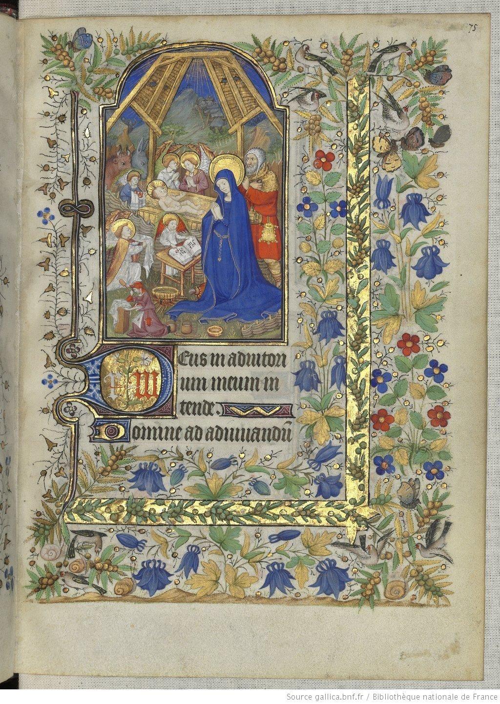 Horae ad usum romanum. Date d'édition : 1401-1500 Sujet : Reliures. XVIIe s Type : manuscrit Langue : Latin Droits : domaine public Identifiant : ark:/12148/btv1b52502614h