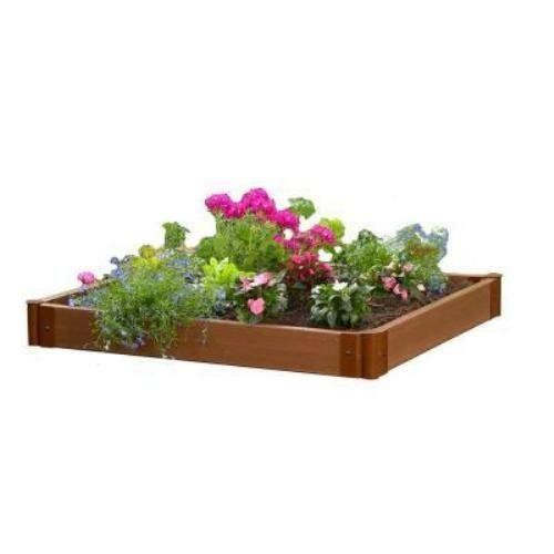 Amazon.com: Frame It All SBX-FNP 4-by-4-Foot Raised Garden Bed ...