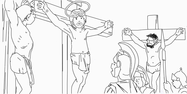 Semana Santa Para Niños Significado Resumen Imágenes Reflexiones Actividades Paraniños Org Semana Santa Dibujos Dibujos Para Colorear