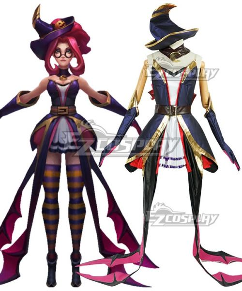 Halloween Janna Skin 2020 League Of Legends LOL Bewitching Janna Skin Halloween Cosplay