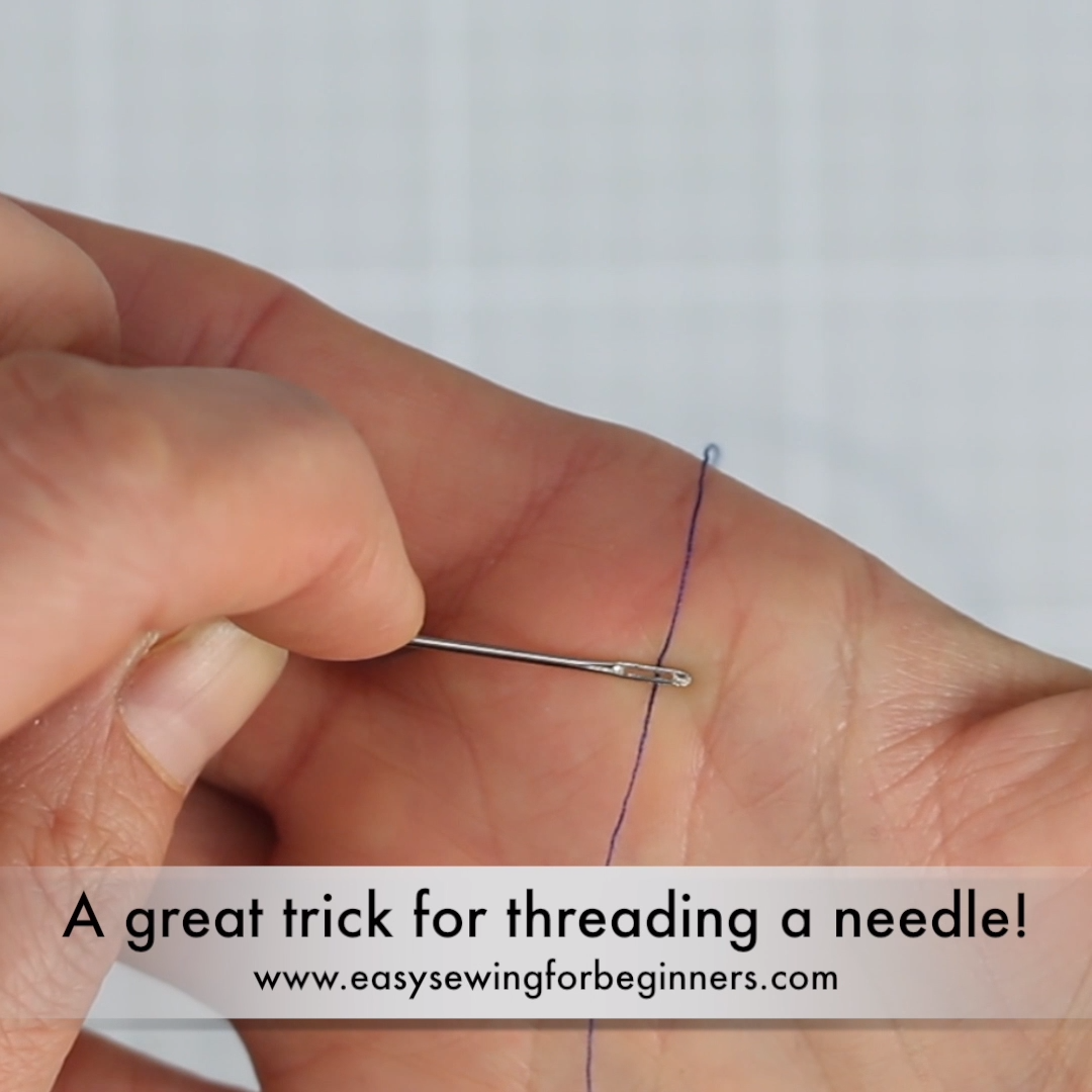 Photo of A Great Trick for Threading a Needle!