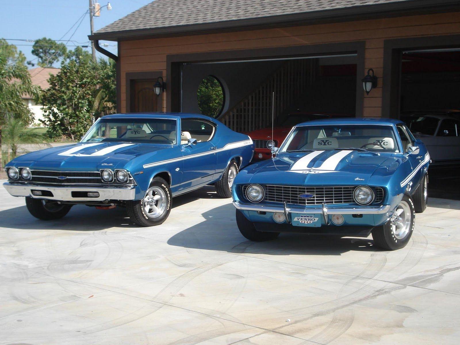 A driveway full of not fair. 69 chevelle 69 camaro. Hopefully not ...