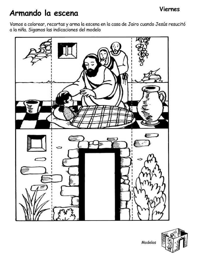 Jesus Resucita A La Hija De Jairo La Hija De Jairo Historia De La Biblia Lecciones De La Biblia