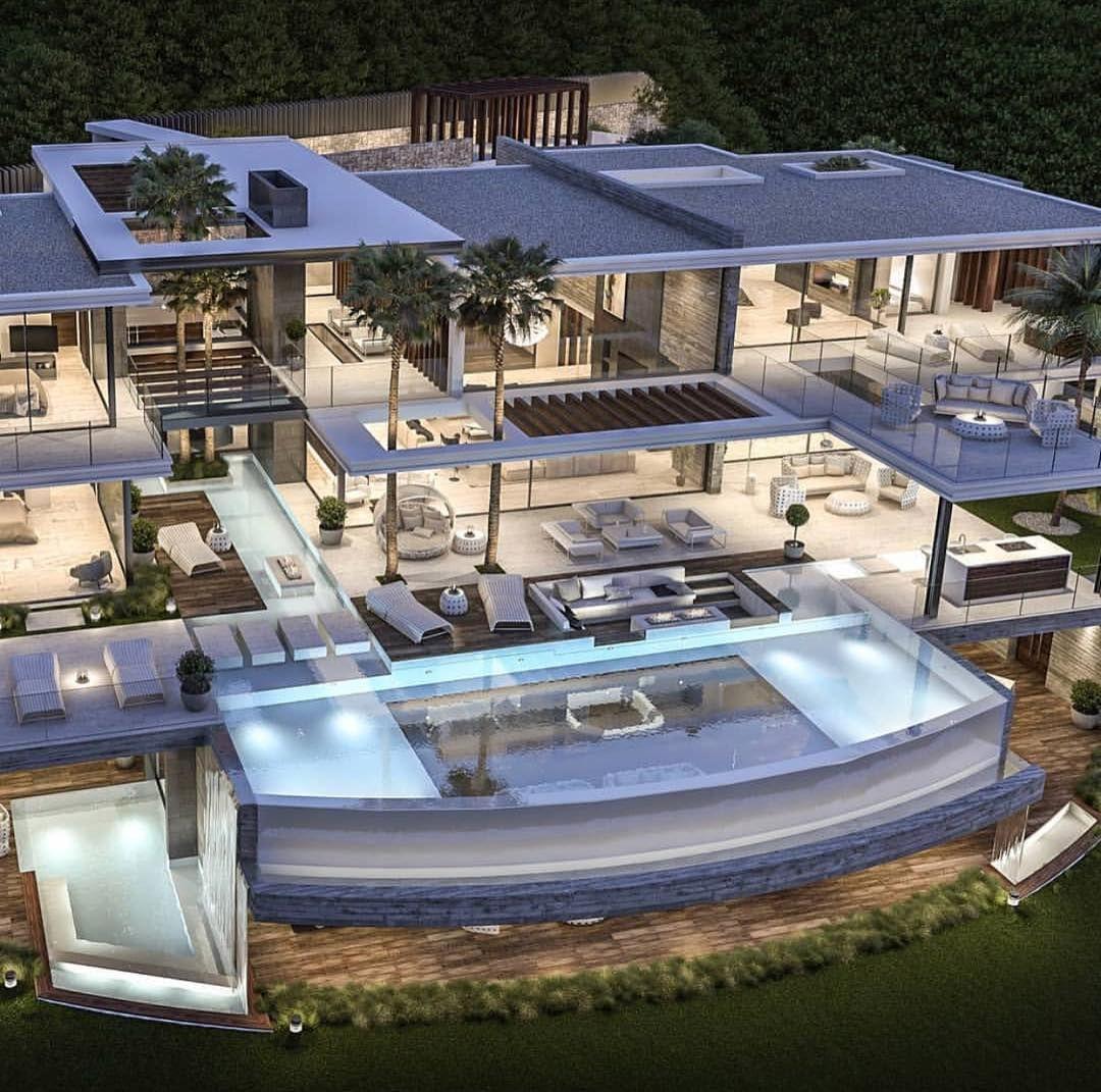 Luxury Real Estate Design On Instagram Luxurious Modern